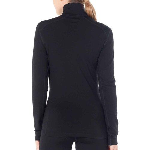 Icebreaker Merino Bodyfit 260 Tech Top dames thermoshirt van merino wol met rits