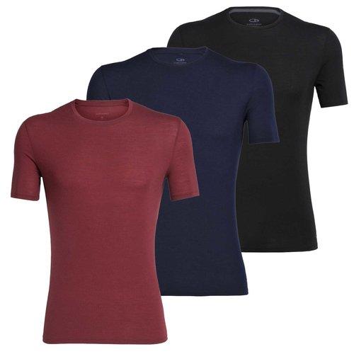 Icebreaker Merino Bodyfit 150 Anatomica Crewe heren T-shirt van merino wol