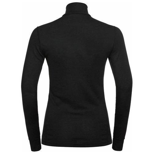 Odlo Active Warm ECO dames thermoshirt met kol en 1/2 zip