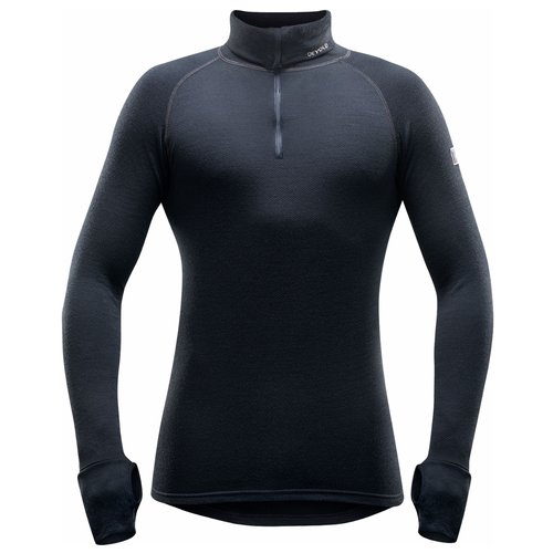 Devold of Norway Expedition merino wol heren thermoshirt met rits