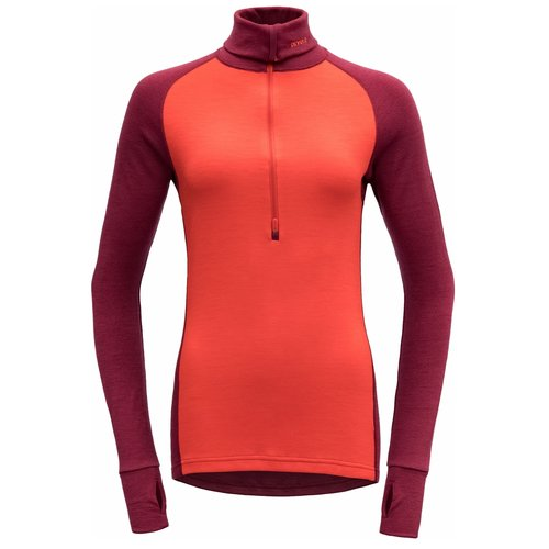 Devold of Norway Expedition merino wol dames thermoshirt met rits