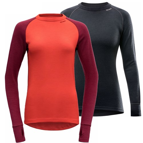 Devold of Norway Expedition merino wol dames thermoshirt