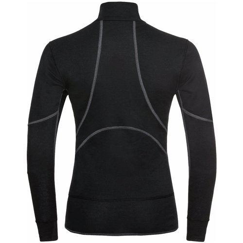 Odlo Extra Warm dames ECO thermoshirt met kol en rits