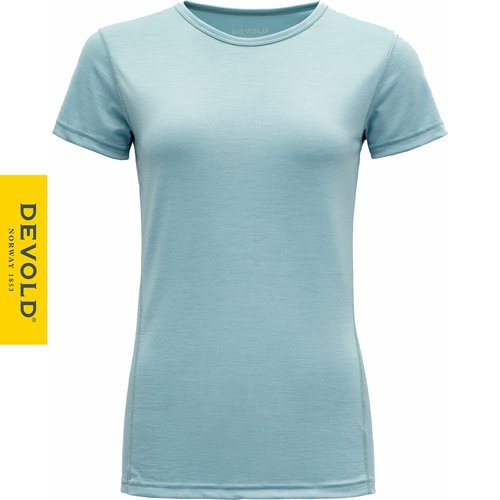 Devold of Norway Breeze dames thermo t-shirt met ronde hals en 150gr merinowol