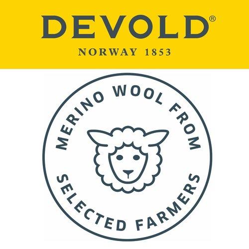 Devold of Norway Breeze dames thermoshirt met ronde hals en 150gr merinowol