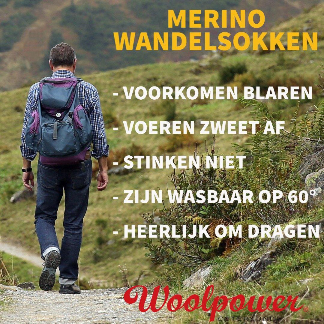 Merino wandelsokken voordelen Woolpower