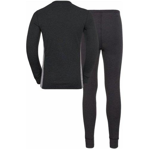 Odlo Odlo Warm Eco heren voordeelset: thermoshirt + thermobroek