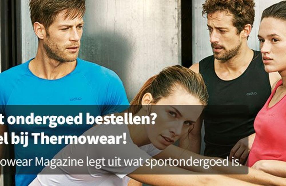 Sporten zonder ondergoed