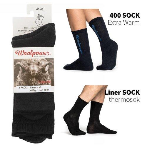 Woolpower 2-pack wintersokken en thermosokken