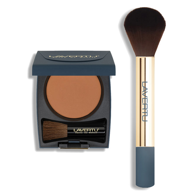 Lavertu Terre de Soleil bronzing powder set no. 02