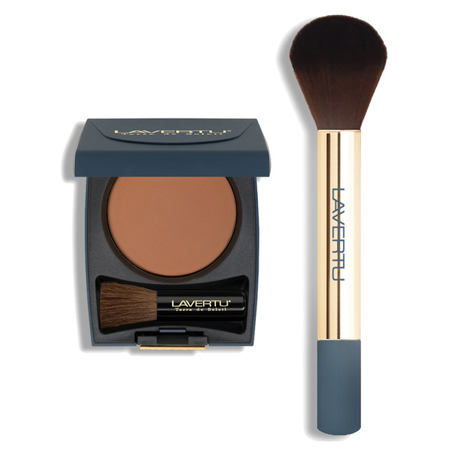Lavertu Terre de Soleil bronzing powder set no. 01