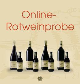 Online-Rotweinprobe am 05.03.2021