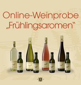 "Online-Weinprobe ""Frühlingsaromen"" am 01.04.2021"