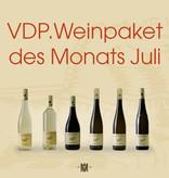 Der VDP-Traubenadler probiert im Juli unser Weinpaket des Monats
