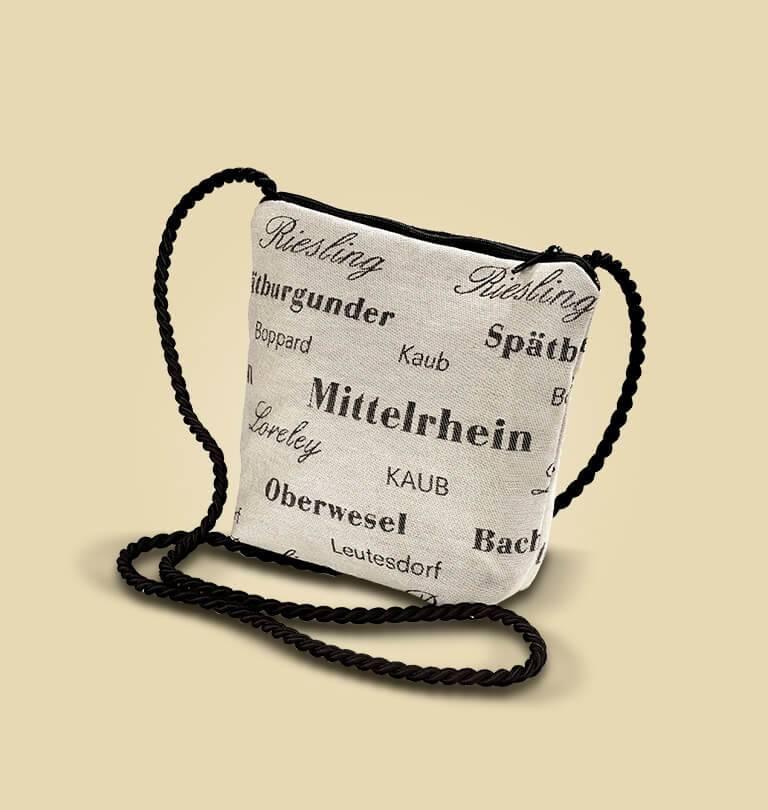 Mittelrheinweintasche Modell Perle