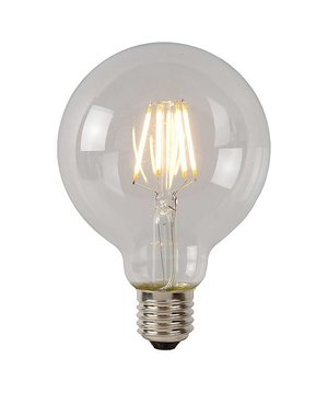 Lucide Filament Led Globe helder 5 watt
