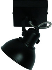Freelight Spot Santo Zwart 1 lichts