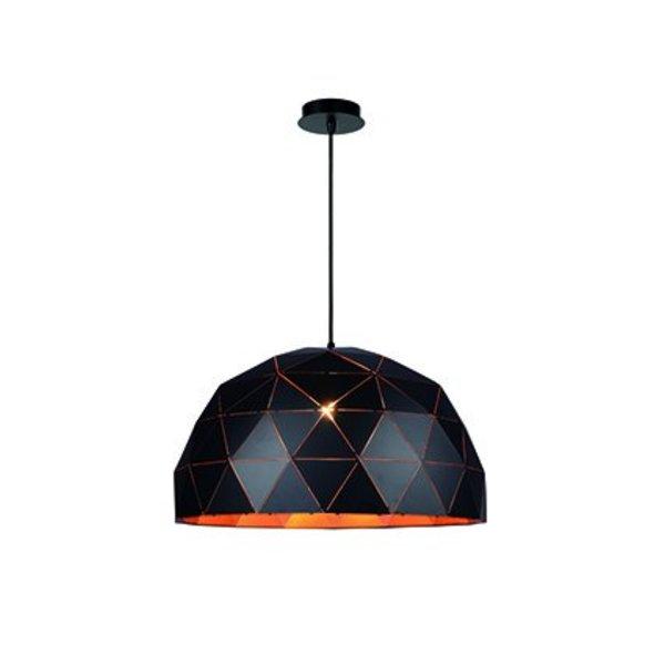 Lucide Hanglamp Otona Zwart 60 cm