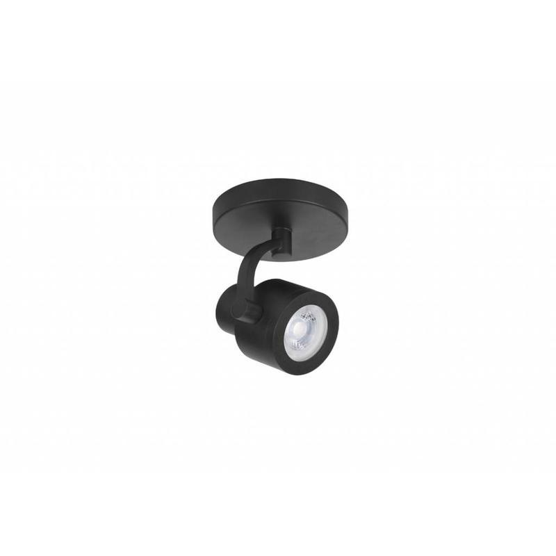 HighLight Spot Alto Zwart 1 lichts