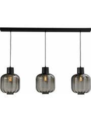 Master Light Hanging lamp Lett lll 3 light glass 28 cm