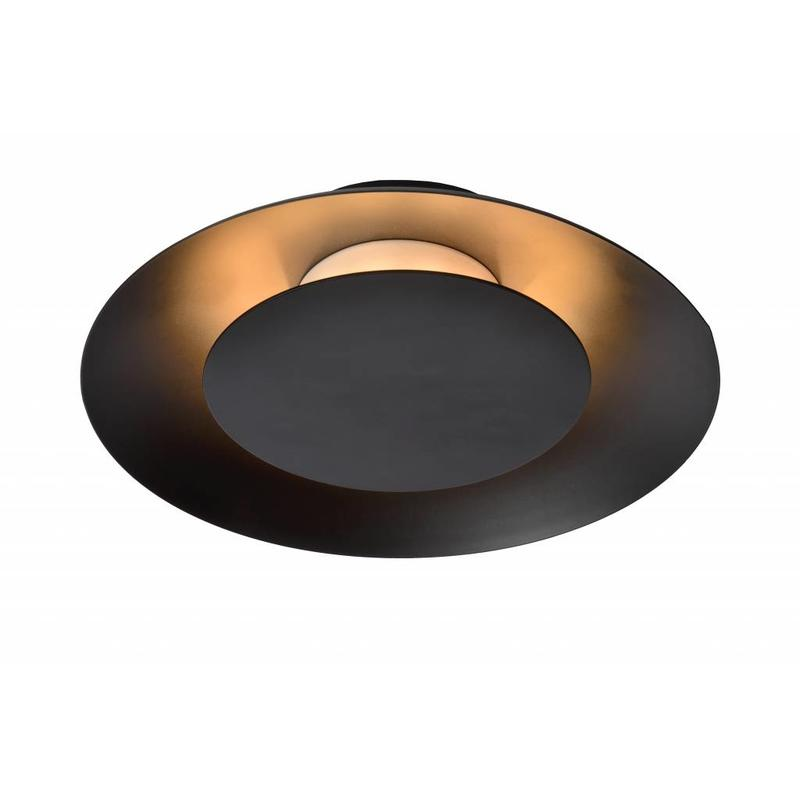 Genoeg Leuk ronde plafondlamp in het zwart is deze Foskal met een GG65