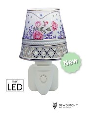 Sweet Lake Compagny Stopcontact Night Light  Lavendel Rosegarden