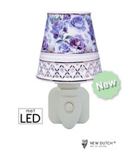 Sweet Lake Compagny Outlet Night Light Purple Roses