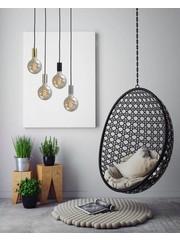 Master Light Tessi hanging lamp Round 3 lights