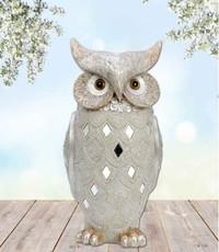 Sweet Lake Compagny Snow owl 28 cm