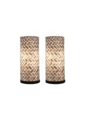 Villaflor Tafellamp Cilinder 30 cm set