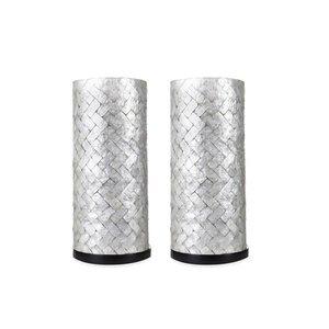 Villaflor Tafellamp  Zigzag 30 cm set