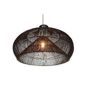 Villaflor Hanglamp Rattan Dome   70 cm