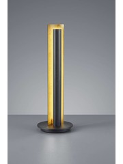 Trio Leuchten Table lamp Texel Black Led
