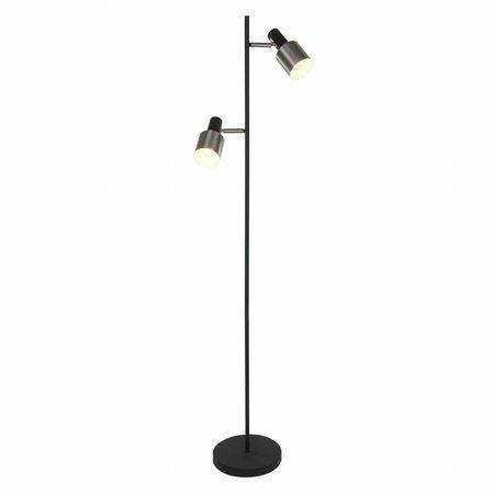 Steinhauer Vloerlamp Fjorgard 2 lichts