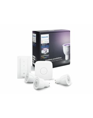 Hue Philips Hue White and Color Ambiance Starterkit GU10