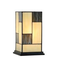 Art Deco Trade Tafellamp Tiffany Mondriaan