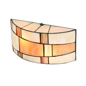 Art Deco Trade Wall lamp Tiffany Roundabout small