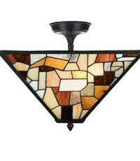 Art Deco Trade Plafondlamp Tiffany Fallingwater