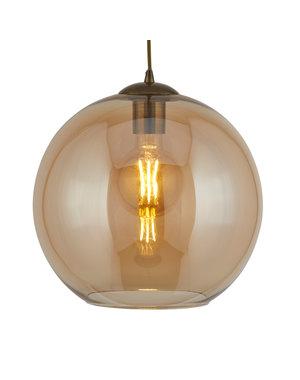 Searchlight Hanglamp Balls Amber Glas