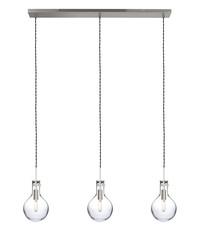 Steinhauer Hanglamp Elegance 3 lichts Led