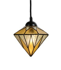 Art Deco Trade Hanglamp Tiffany Aiko Yellow