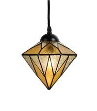 Art Deco Trade Tiffany Aiko Yellow hanging lamp