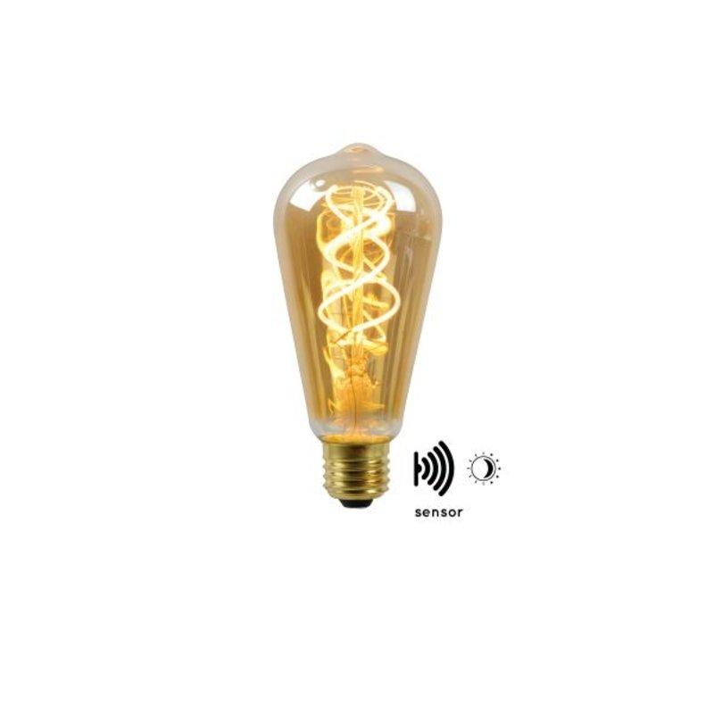Lucide Filament Led  14,6 cm  Dag/Nacht sensor  lang