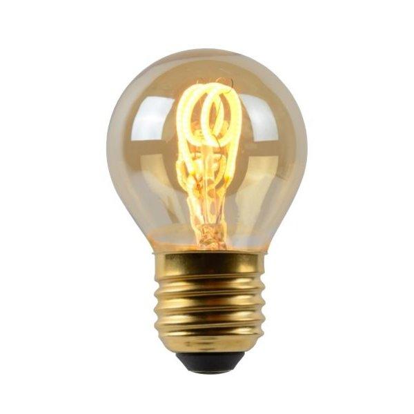 Lucide Led filament kogellamp Amber E27