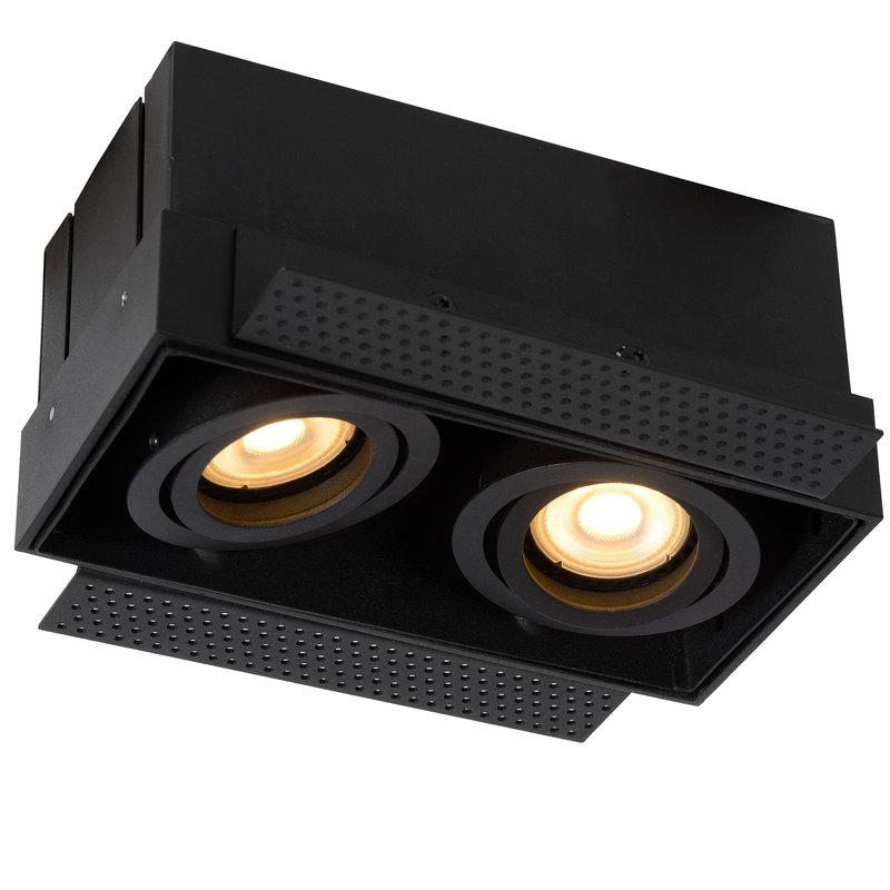 Lucide Inbouwspot Trimless 2 lichts