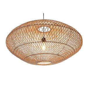 Villaflor Rattan Ufo hanging lamp 80 cm