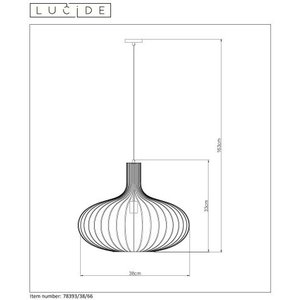 Lucide Hanglamp Merlina