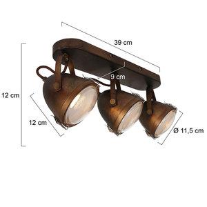 Steinhauer Spot Paco 3 lichts