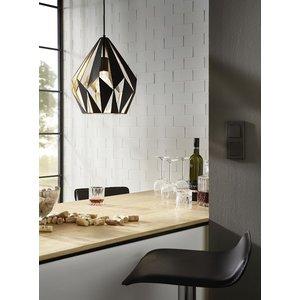 Eglo Hanglamp Carlton 1 Zwart-Goud