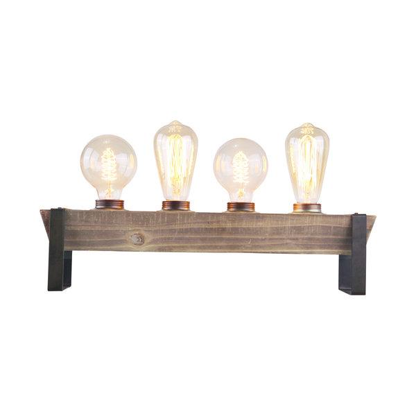 Freelight Tafellamp  Legno 4 lichts